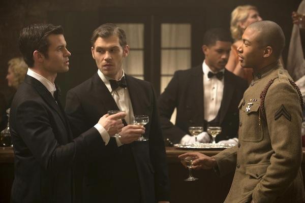 Klaus, Elijah and Marcel in a flashback on The Originals