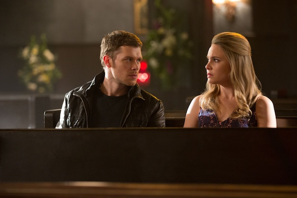 Klaus and Cami talk on The Originals