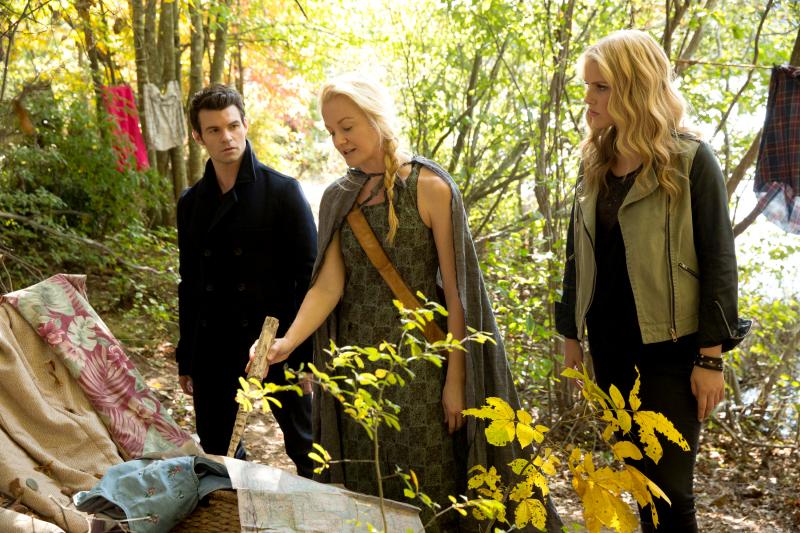 Elijah and Rebekah meet Eve on The Originals