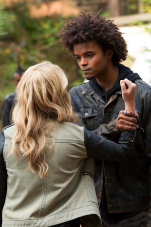 Rebekah and Diego face off in The Originals