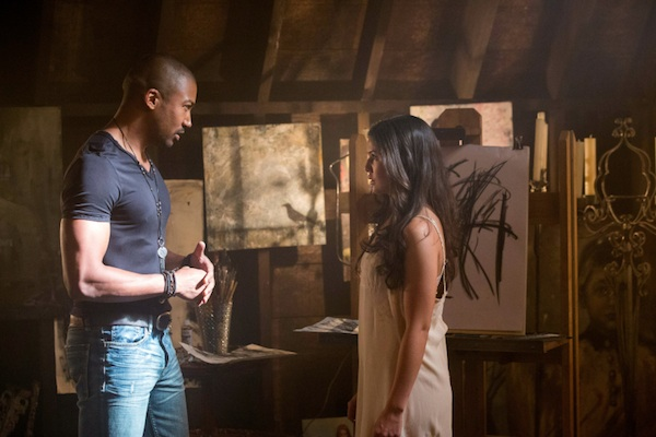 Marcel and Davina plot in The Originals