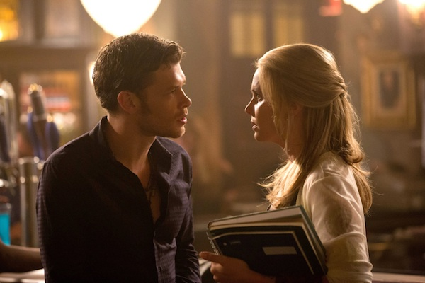 Camille and Klaus talk in The Originals
