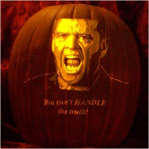 The Pumpkin Geek: Jack Nicholson o Lantern