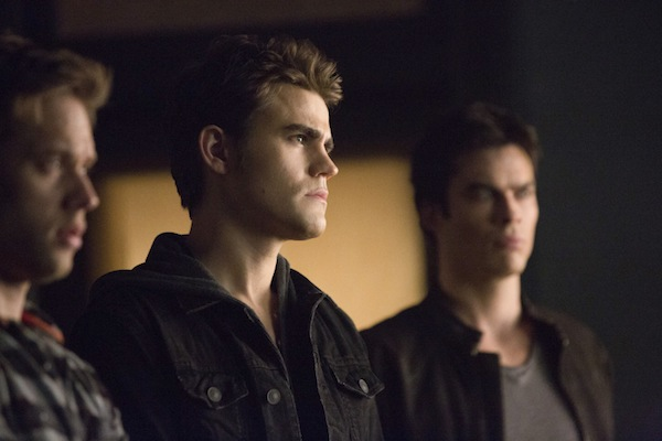 Stefan and Damon face Dr. Wes in The Vampire Diaries