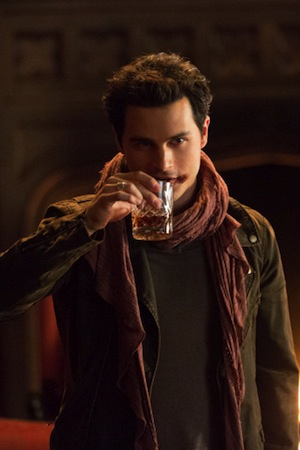 Enzo brings out the bad in Damon on The Vampire Diaries