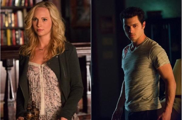 Caroline et Klaus Vampire Diaries in 2019 t