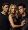 Caroline, Tyler and Klaus in The Vampire Diaries