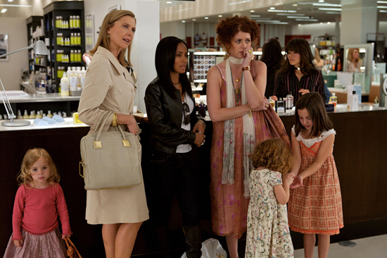 Annette, Jada and Debra have a look at 'the other woman' Eva