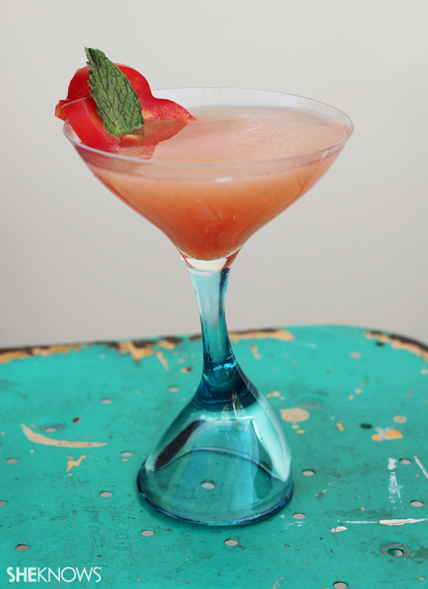 The Love Unit signature wedding cocktail