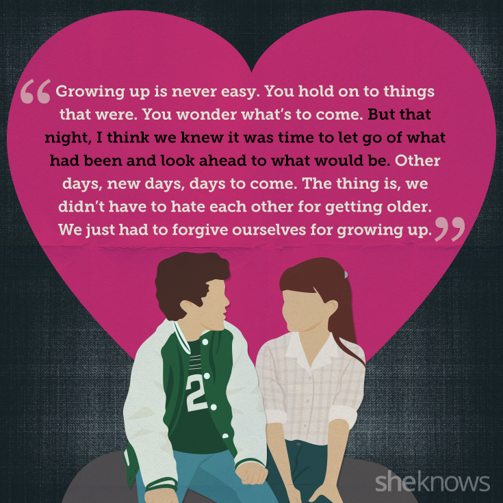 Love Quotes From The Wonder Years And What They Remind Us About Impressive Quotes About Growing In A Relationship