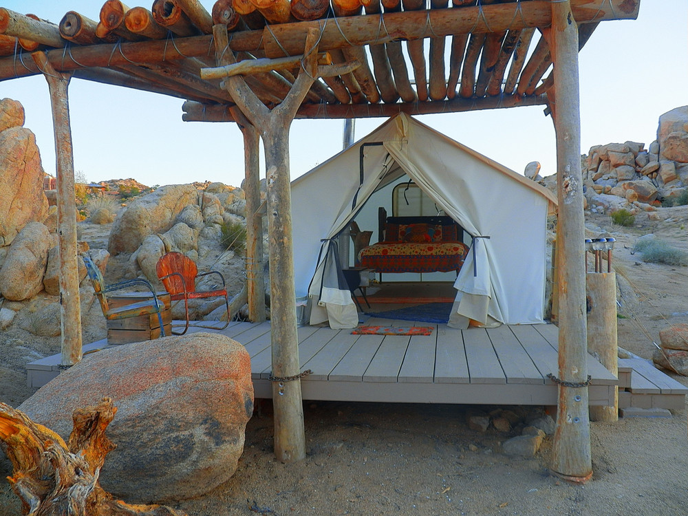 Crazy Beautiful Glampgrounds: The Aerie; Joshua Tree, California | Summer Travel 2017