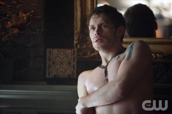 Klaus in The Vampire Diaries