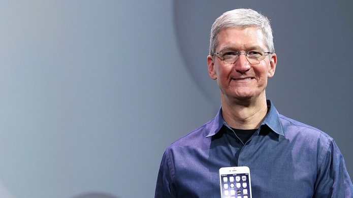 Tim Cook comes out