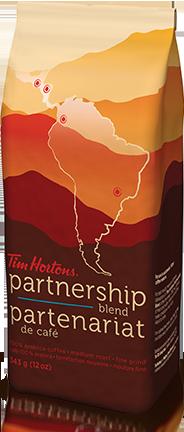 Tim Horton's partnership coffee | Sheknows.ca