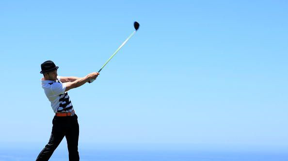 A beautiful sight, Torrey Pines and Justin