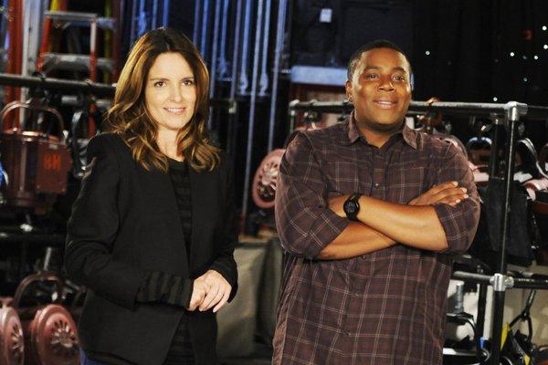 Tiny Fey hosts Saturday Night Live