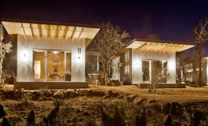 BFFs build tiny house neighborhood of