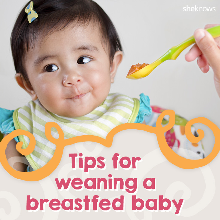 Tips for weaning a breastfed baby