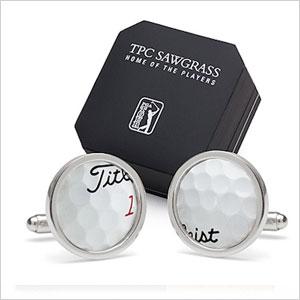 Titleist golf-ball cufflinks