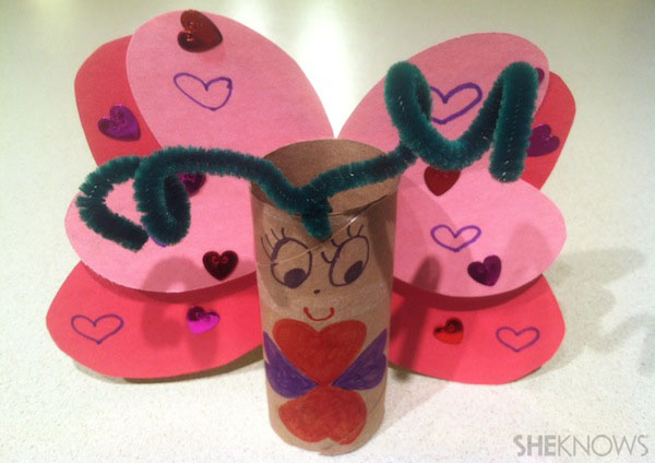 Easy Valentine S Day Crafts For Kids Sheknows