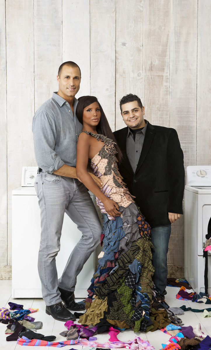 Toni Braxton, Nigel Barker & Michael Costello in partnership with SheKnows for the Where's The Other Sock campaign