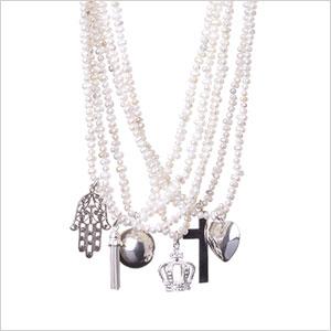SanCerre Tooth Pearl Necklace