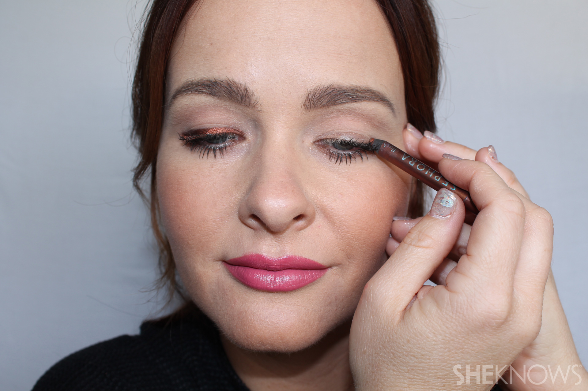Top Lid Step 2: Apply to other eye
