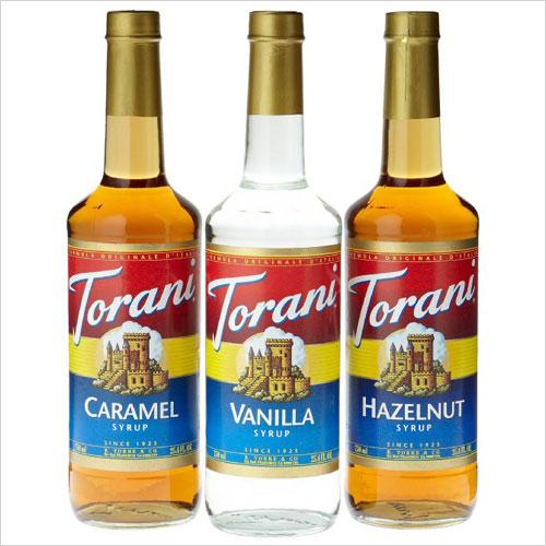 Torani coffee syrups
