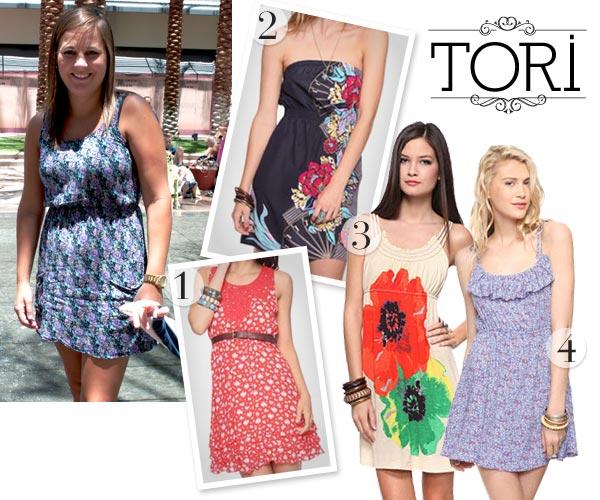 floral print summer dresses
