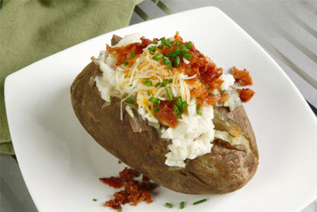 Traditional baked potato