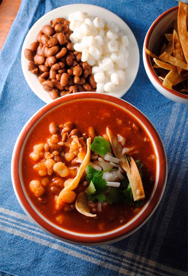 Bean Pozole (pozole de frijol)