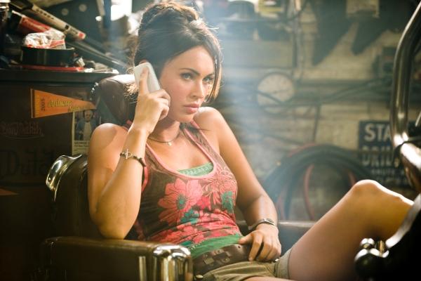 Megan makes a call