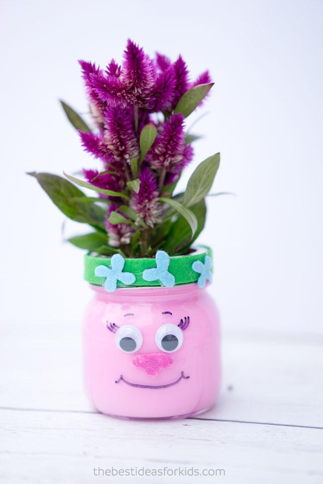 'Trolls' mason jars