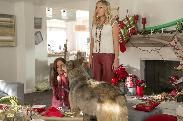 Trophy Wife Christmas Diane and Kate