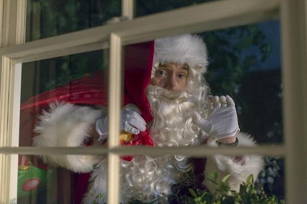 Trophy Wife Christmas Santa Pete
