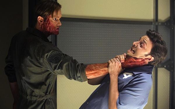 Eric kills Steve in True Blood