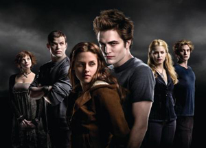 Edward and Bella head into theaters in December