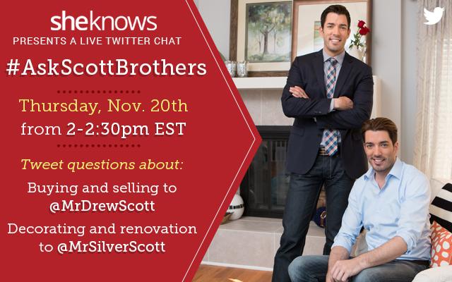 Jonathan and Drew Scott Twitter chat