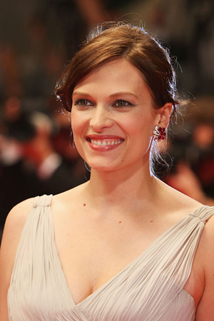 The film premiered at Cannes where Vinessa was all smiles