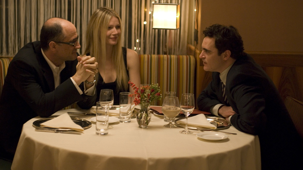 Gwyneth and Joaquin in Two Lovers, opening February 13