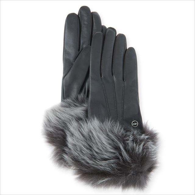 UGG Classic Heritage Toscana Gloves Black