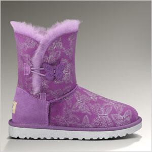 Ugh purple boots
