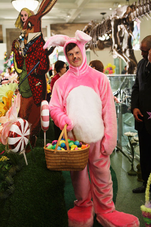 The bunny is out on Ugly Betty