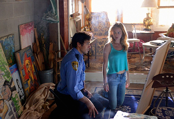 Junior and Angie in Under the Dome