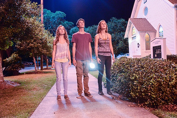 Angie, Joe and Norrie in Under the Dome