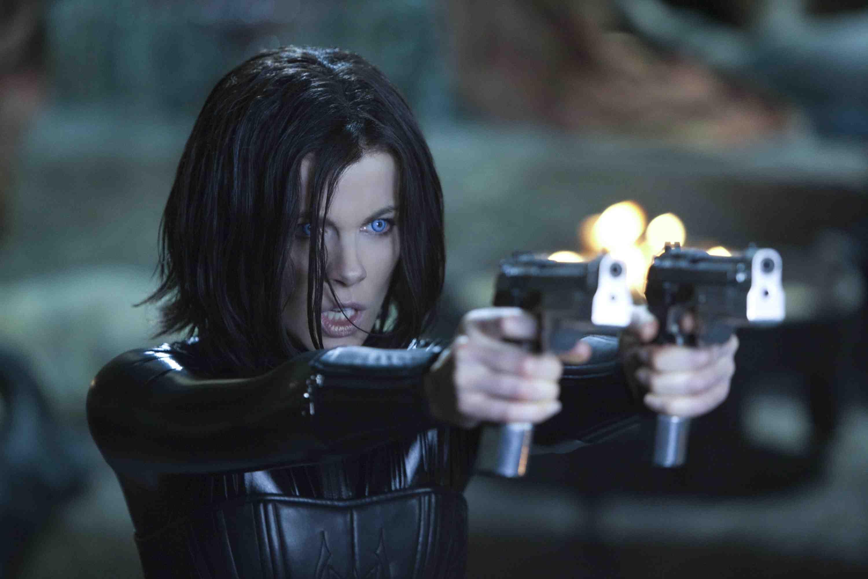 Kate Beckinsale as Selene in Underworld: Awakening