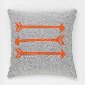 NEST Arrow Chambray Pillow