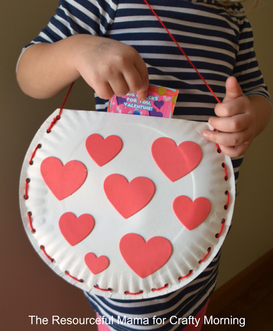 Valentine's crafts for kids | Valentine Carryall