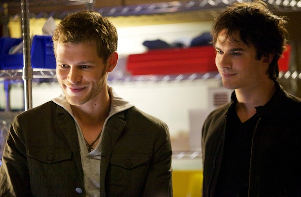Klaus and Damon trap the Hunter