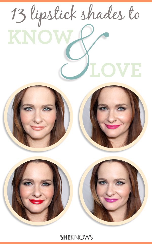 13 lipstick shades to know and love   SheKnows.com